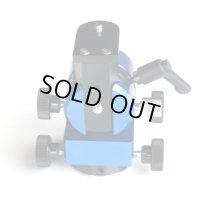TK-ALZM Jr ( Blue-青 ) 小型微動雲台+クランプBセット 在庫1点限り